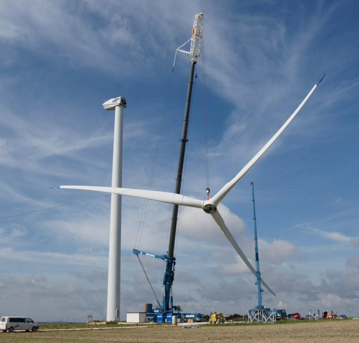 Erection Of Wind Turbines