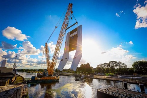 Queen Maxima Bridge Project, The Netherlands
