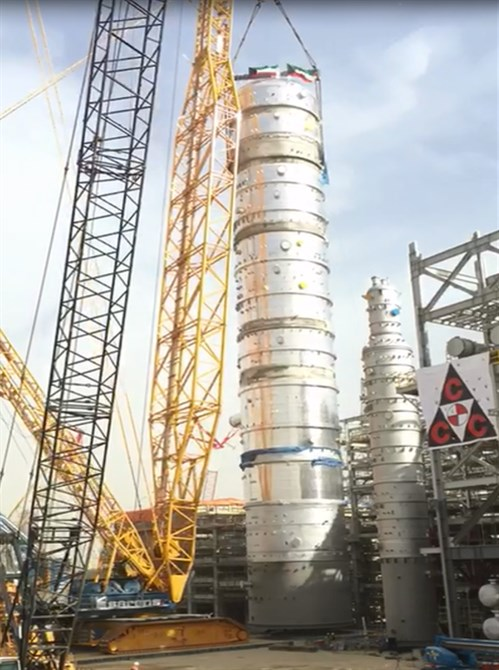 Sarens Praised for Challenging Lift at KNPC Clean Fuels Project