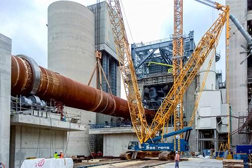 Heidelberg Cement Plant in Germany