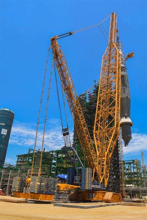 Crane Truck For Sale >> Lattice boom cranes