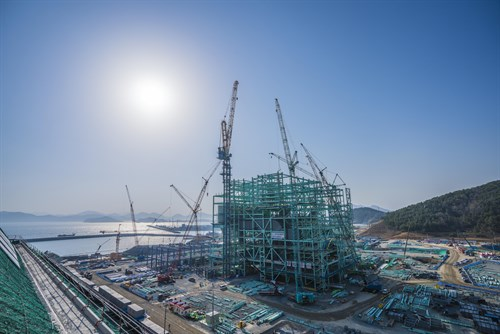 Goseong Green Power Plant South Korea