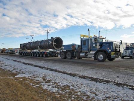 Heavy transport in Canada